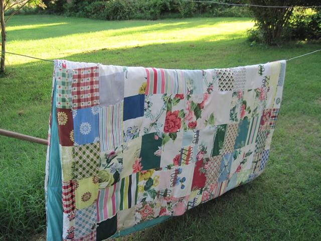 Vintage quilt