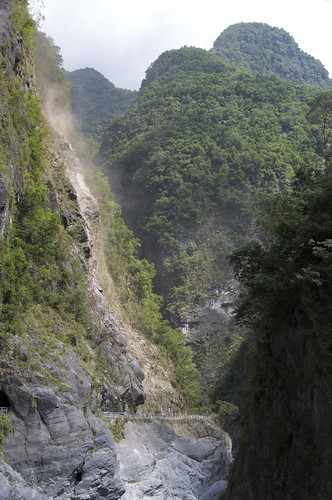 Taroko falling rocks