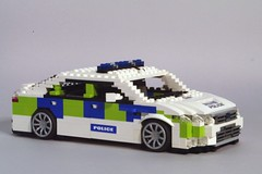 Ford Mondeo Mk III Police Car