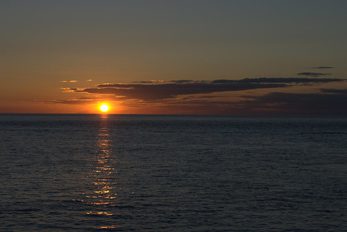 Sunset from Spirit of Hervey Bay