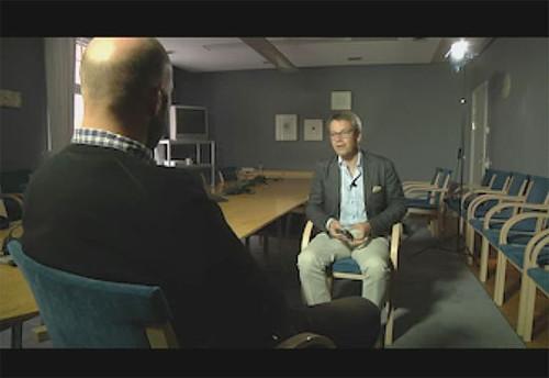 Ego intervjuar Göran Hägglund