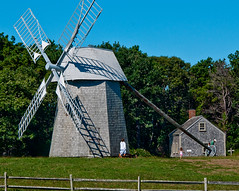 the windmill (Paul Broderick) Tags: capecod nikond90 lightroom2 cpaulbroderick