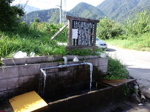 道志みち、大渡の湧き水