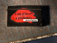 I am at heart a gentleman. --Marlene Dietrich