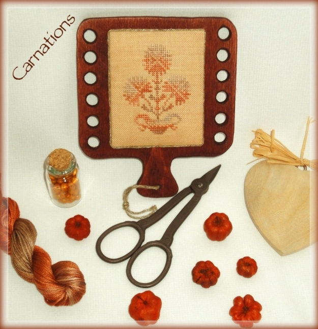 Carnations_40ct_kit by Barbi Hababann and Nina