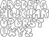 Molde de letras para Patchwork (Jack Parisi) Tags: patchwork molde letras