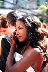 Rutina Wesley aka Tara from HBO's 'True Blood' (djtomdog) Tags: television losangeles tv tara hbo emmys nokialive tvjunkie trueblood rutinawesley thomasattilalewis thetvjunkie primetimeemmy