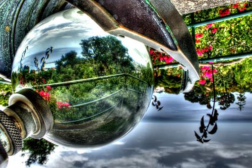 Crystal ball. Funchal, Madeira. Bola de cristal