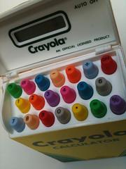 Crayola calculator (skipratmedia) Tags: calculator crayon crayola
