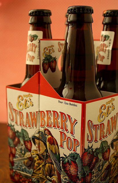 Strawberry Pop Soda