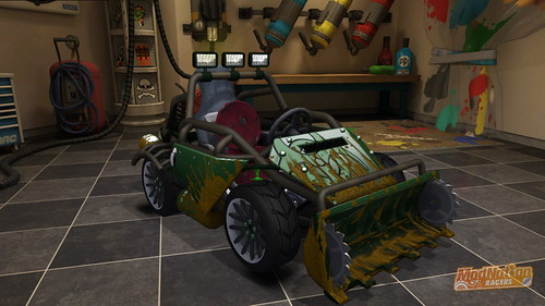 ModNation Racers for PS3: Sewer Buggy