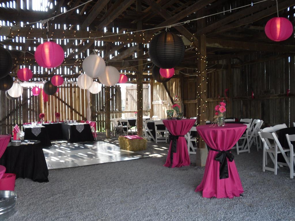 Awsome barn reception