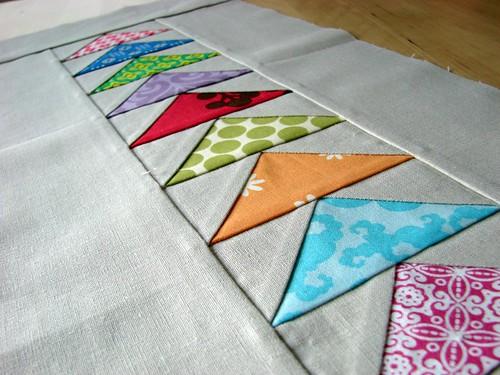 mini quilt top