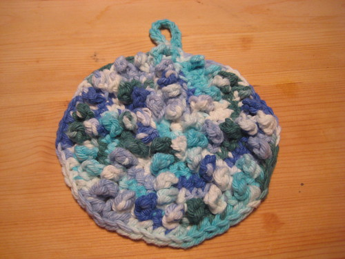 Spiral Nubby Dishcloth 2