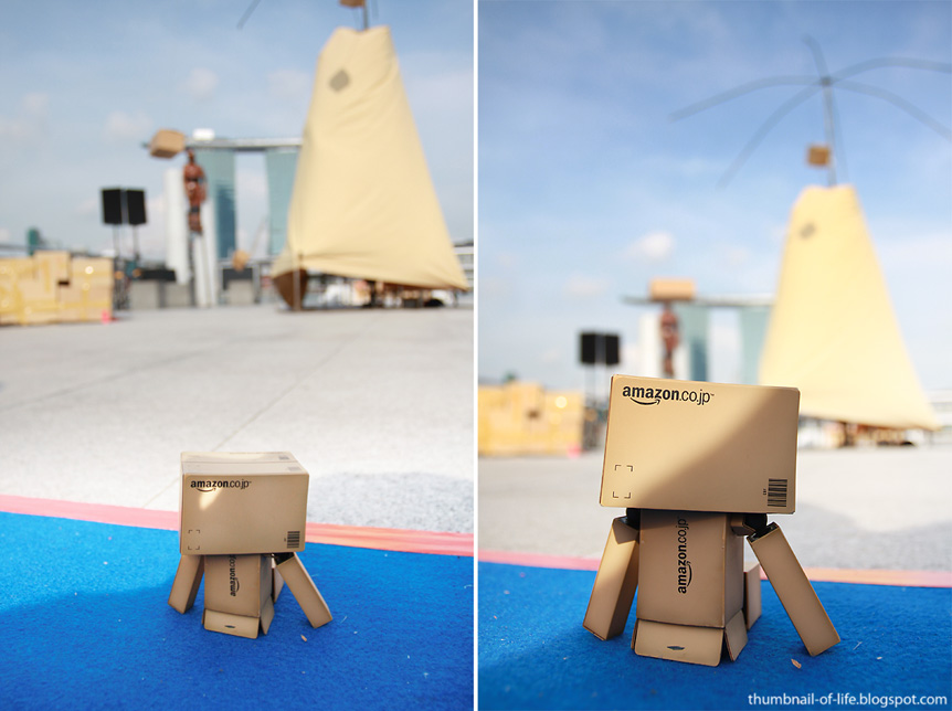 Danbo in Singapore