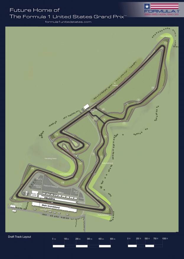 NEWS // U.S. GRAND PRIX CIRCUIT UNVEILED