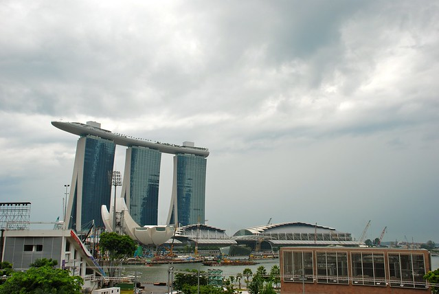 Marina Bay Sands - Sea View