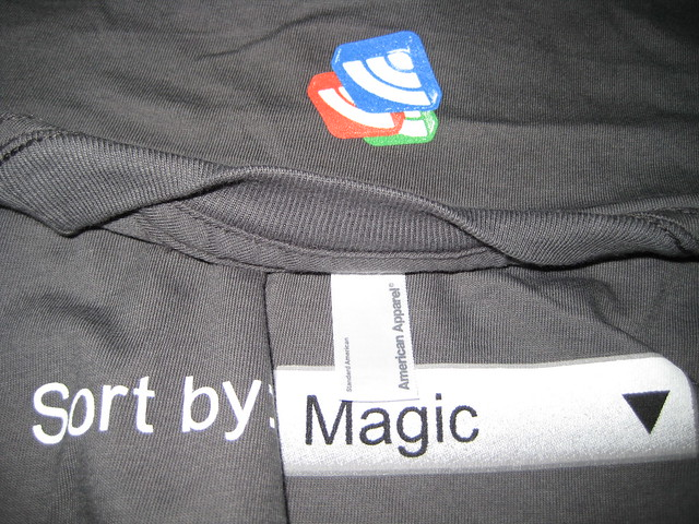 "Google Reader ""Sort by Magic"" T-Shirt"