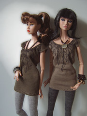 "New ""Feathers"" (Levitation_inc.) Tags: fashion ooak feathers levitation clothes poppy royalty parker"