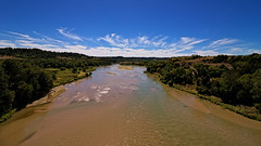 This is Nebraska?  AKA The Niobrara National Scenic River (Fort Photo) Tags: nature river landscape photography nikon nebraska valentine ne 169 2010 cherrycounty niobrara d700 usroute83 niobraranationalscenicriver