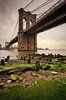 The Brooklyn Bridge (chris lazzery) Tags: newyorkcity newyork brooklynbridge eastriver 5d canonef1740mmf4l bw30nd