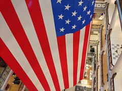 Flag of the United States of America at Macy's in Chicago's Loop (vxla) Tags: 2017 2010s vxla illinois iphone summer iphone5 chicago downtown loop flag macys marshallfields unitedstatesofamerica patriotic