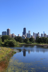 Lincoln Park (BartBucko) Tags: chicago lincoln park skyline chitown refelction