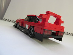 Nissan Skyline RS Turbo Super Silhouette 1983 (Lego guy 2) Tags: nissan skyline rs turbo super silhouette 1983 lego 5 wide city car