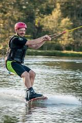 Omnia Cable Ski-0156 (~.Rick.~) Tags: cableski carbrook friends kneeboard omniagroup qld queensland seq team excitement fun ski water australia au