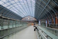 St. Pancras train shed (CPShips) Tags: stpancras london londonmidlandscottish station