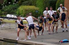 Swinging (MalB) Tags: angliaruskin rowing rowers lycra mays maybumps 2017 cambridge cam pentax k5