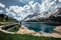 Lago di Fedaia (zczillinger) Tags: dolomites italy europa europe dolomiti südtirol selva val gardena sasso lungo dolomiten canon5dmarkiv canon