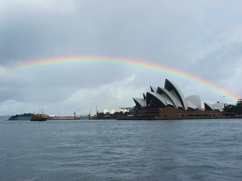 Picture From Sailing Around Sydney Harbor