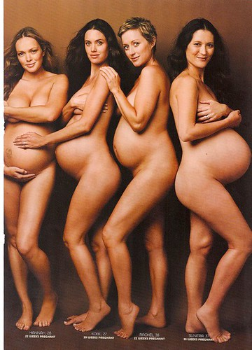 Naked pregnant women group you thanks