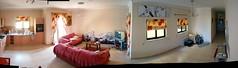 FFFFlat (Justin__Case) Tags: panorama kitchen graffiti living clare apartment flat room bleach couch salon appartement soi fon claymore ktc autopano esow