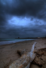 The Hole (Formha) Tags: sea weather clouds canon sand nuvole mare tokina salento spiaggia hdr sabbia 500d 1116 wonderfulword canonianiit fabioleo formha