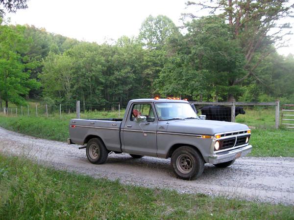 v-in-the-truck
