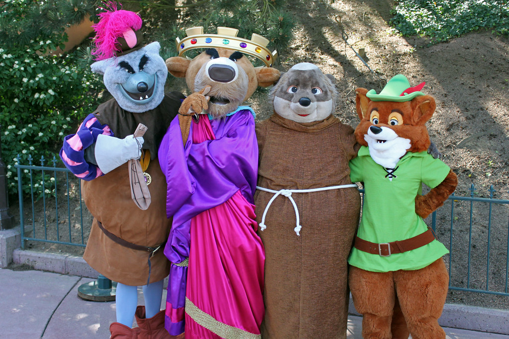 Robin Hood Movie At Disney Character Central