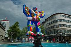 Brunnen von Niki de Saint Phalle,Duisburg (Amselchen) Tags: sigma dp1