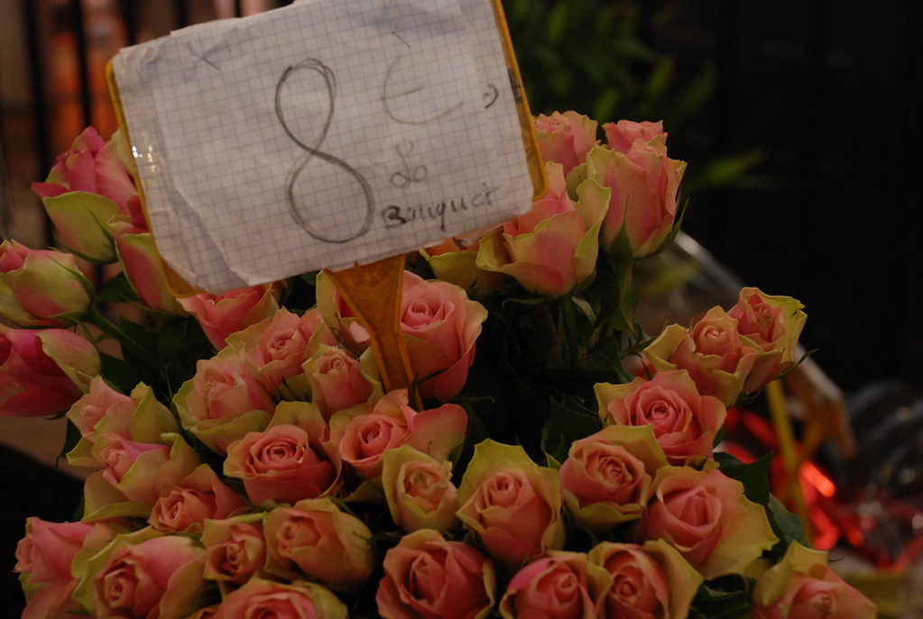 flowers at Marche Forville