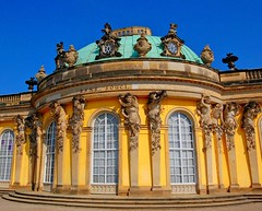 Sanssouci Palace in Potsdam, Germany (Tobi_2008) Tags: germany deutschland palace tobi schloss allemagne sanssouci potsdam germania supershot abigfave anawesomeshot theunforgettablepictures