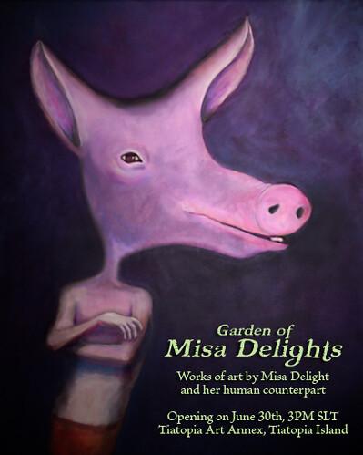 Garden of Misa Deligts Art Show!