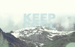 July 2010 Calendar (kriegs) Tags: desktop wallpaper mountain art photoshop landscape calendar widescreen digitalart july helvetica desktopwallpaper 1920x1200 keepcool iphonewallpaper