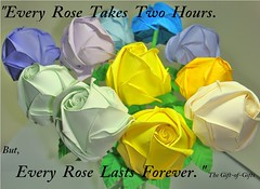 Paper Roses (Origami roses) (The Gift of Gifts) Tags: happiness thankful grateful kindness valentinesday sincerity paperrose diamondrose origamirose  worldcup2010 artrose   papierrose giftofgifts giyhng giftofgift giftofgiftsrose  rosadicarta piparardaigh roseenpapier papierstieg papprrose   paprovre thegiftofgiftsrose thegiftofgiftrose  cartarosa papprhkkai gg