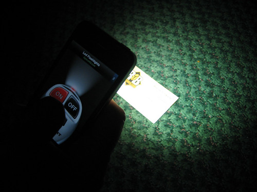 iPhone 4 Flashlight