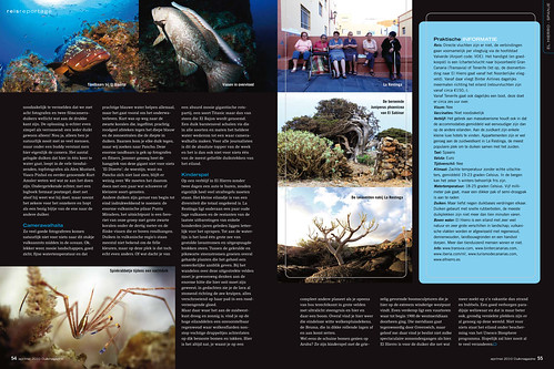 El Hierro for Duikmagazine, pages 7&8