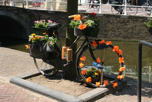 Bici decorada