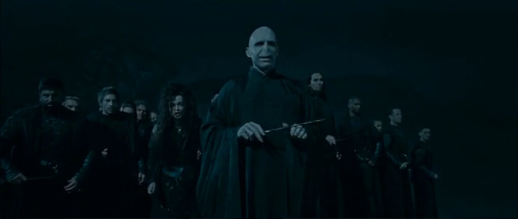 Harry Potter and the Deathly Hallows Voldemort's Army