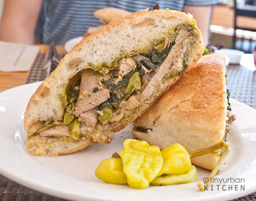 Canteen Broccoli Rabe Pork Sandwich