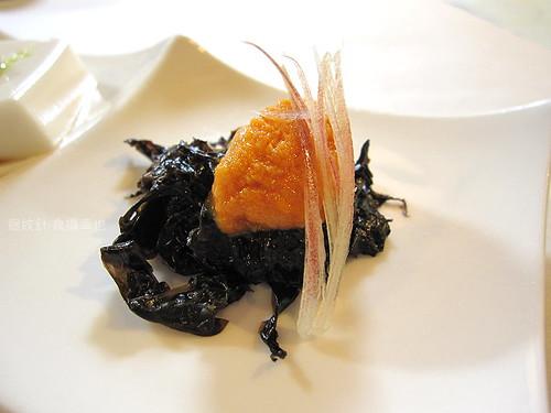 食養山房開胃三式之紫菜海膽
